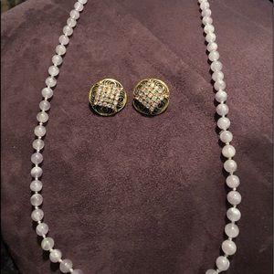 Jewelry - Lavender jade necklace